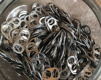 Standard Pop Can Tabs. Lot of 100