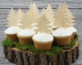 Wilderness Cupcake Toppers