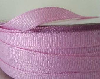 """Pink Grosgrain 2/8"""" x 5 Yards Roll. MADE IN USA. High Quality Ribbon. Baby Girl Ribbon. Baby Shower Ribbon. Craft Pink Ribbon.Wrapping,Bows."""