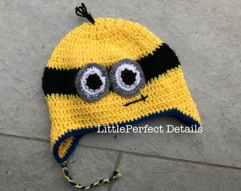 Minions Knitted Hat, Minions Hat
