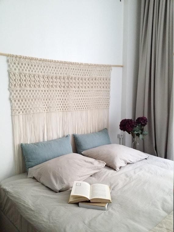 suspension en macram d cor de mariage rideaux boh me. Black Bedroom Furniture Sets. Home Design Ideas