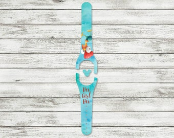 Hei Girl Hei MagicBand Decal | MagicBand 2.0 Skin | RTS Ready To Ship | Fits Both Adult & Child Bands