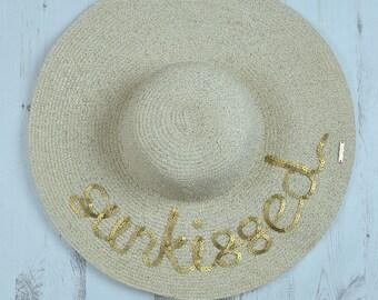 Serafina 'Sunkissed' Wide Brim Floppy Sun Hat