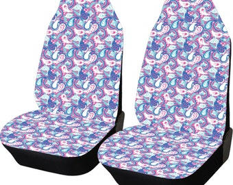 floral antlers seat covers for vehicle car seat covers front. Black Bedroom Furniture Sets. Home Design Ideas