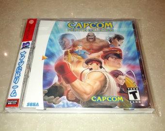 Capcom Fighting Collection (Sega Dreamcast)