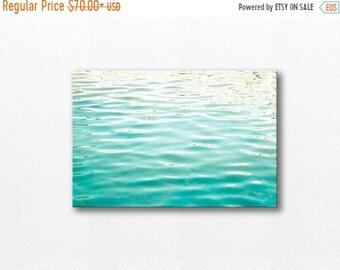 ON SALE water photography canvas beach nautical decor 12x12 24x36 fine art photography ocean canvas wrap abstract canvas art coastal canvas