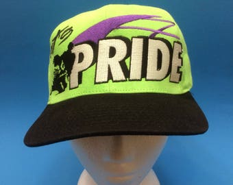Vintage Arctic Cat Cat's Pride SnapBack Hat Adjustable 1990s Club