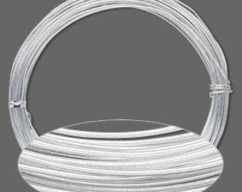 18G or 20G Stainless Steel Wire - High Quality Non-Tarnish Stainless Steel Wire - jump rings - wire wrapping - jewelry supplies