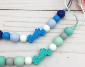 Baby Boy Pacifier Clip | Binky Clip | Silicone Paci Holder | Baby Gift | Silicone Paci Clip | Boy Paci Clip | Dummy Clip | Soother Holder