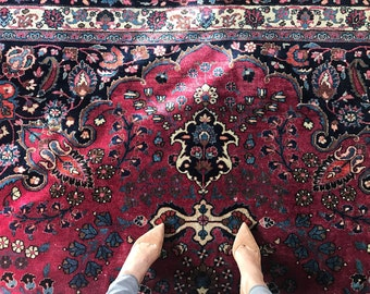 The Odessa - Mashad Persian rug (9ft x 12ft)