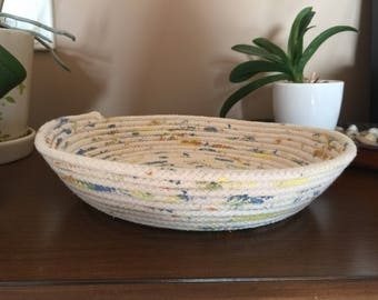 Rope basket bowl