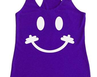Smiley Bar Workout Tank