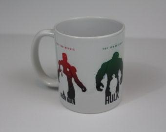 Avengers Power Team / Hulk / Iron Man / Thor / Captain America Mug
