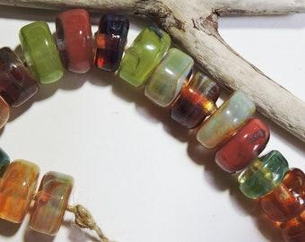 Lampwork Borosilicate Beads WOODLAND Two Sisters Designs 031818D