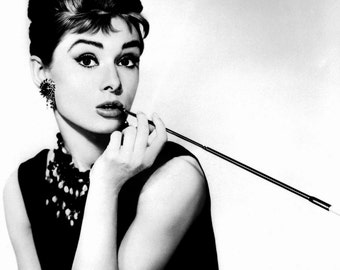 "Audrey Hepburn in Film ""Breakfast at Tiffany's"" - 8X10 or 11X14 Publicity Photo (NN-223)"