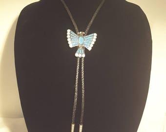 Native American Thunderbird Bolo Tie