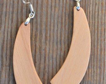 Handmade Dogwood dangle earrings