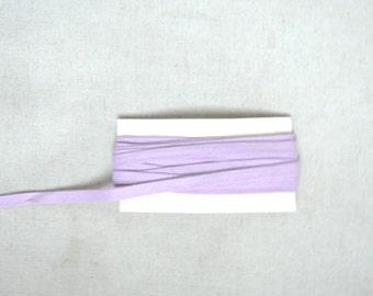 Parme folded cotton straps - 9mm wide
