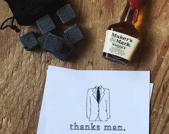 Groomsmen cards / Wedding Party, Gift, Bridal Party, Ringbearer, Thank you, Best Man card, Groomsman gift
