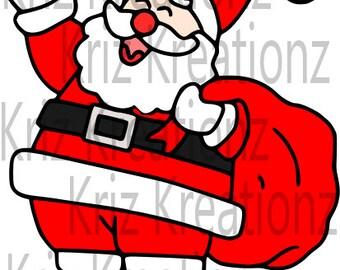 Santa Claus SVG Cut File