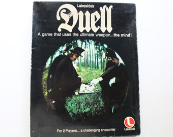 Vintage Lakeside's Duell Board Game 1976