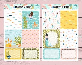 Mermaids Weekly Kit | Planner Stickers