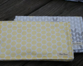 Burp Cloth - Set of 2 - Cotton Burp Cloth - Burp Cloth Gift Set