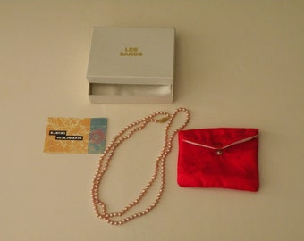 """Lee Sands Cultured Pearls Necklace 35 1/4"""""""
