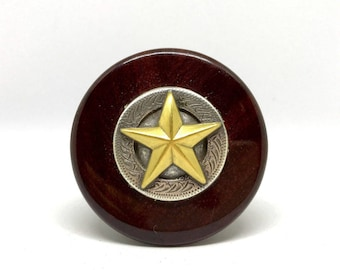 Antique Texas Star Wine Stopper