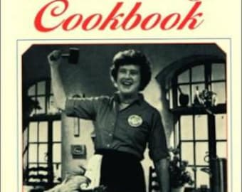 BON APPETIT ! _The French Chef Cook Book by Julia Child 1977 Hardback/Dj LIKE-New Illustrated 1970's T.V. Series.
