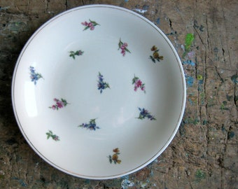 A vintage French compotier, pedestal plate, serving plate, Limoges, porcelain