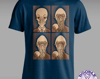 Ood One Out - Whovian T-shirt