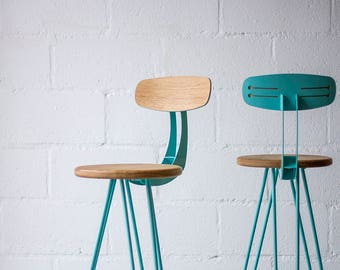 Bar stool chairs, Bar stools mid century, Bar stool, Bar Chair, Counter height Stool, Hairpin Legs, Eames.