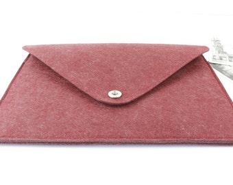 felt Macbook Air 13 sleeve, Macbook 13 sleeve, Macbook 13.3 case, Macbook Air Case, Macbook Air Sleeve, Laptop sleeve, Laptp case 075WR