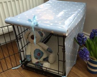 Dog Crate Cover - XS Dog Crate - Blue Dog Crate Cover - Dog Accessories - Crate Cover - Dog Crate - Pet Crate Cover - Dog Crate Furniture