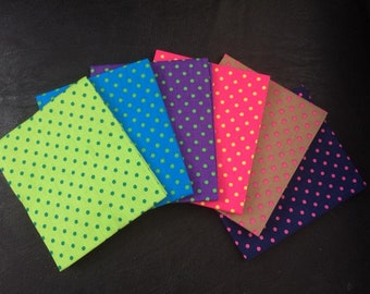 Funky Spot fat quarter bundle 100% cotton