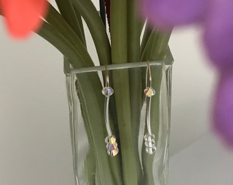Crystal Swarovski Earrings. Perfect for brides, bridesmaids, prom or just because you you need some more glitter in your life!