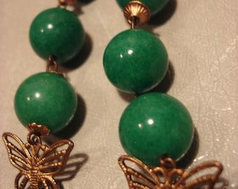 Handcrafted Green Pea In Butterflies