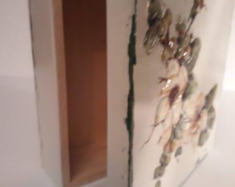 Wooden Box - Decoupage