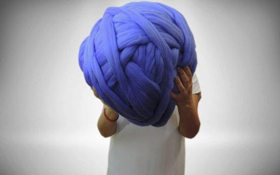 Merino Wool Chunky yarn Roving Arm Knitting Wool yarn