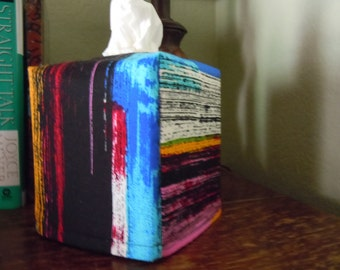"Ready To Ship - ""d'orsay""  The Alexander Henry Fabrics Collection  - Tissue Box Cover"