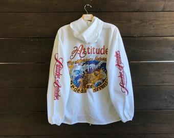Vintage 90s Latitudes & Attitudes Hoodie Jacket