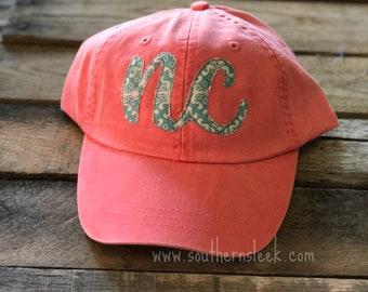 NC Coral & Teal Hat