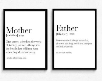 Brother meaning etsy motherfathersisterbrother dictionary definition print stopboris Choice Image
