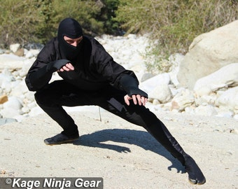 Ultimate Ninja Costume Set w/Free Nunchaku