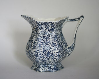 vintage chintz pitcher by enesco