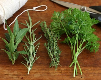 Scarborough Herbs, Simon & Garfunkel's Parsley, Sage, Rosemary and Thyme-for Soups, Stews, Sauces, Rubs and Casseroles! Sodium Free