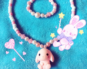 SweetBunny Necklace Set