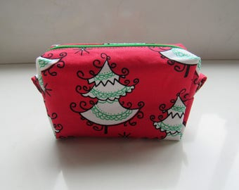 Zipper Pouch Box, Cosmetic Pouch, Makeup Pouch