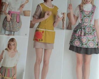 Simplicity 2272 apron pattern, ladies S, M, L